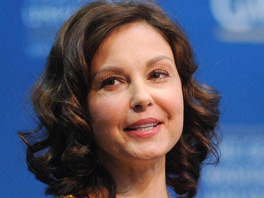 Actress Ashley Judd, a potential Democratic U.S. Senate candidate from Kentucky, speaks at a George Washington University forum called, Progress and Perspectives: Women's Reproductive Health in Washington, D.C., Friday, March 1, 2013. (Olivier Douliery/Abaca Press/MCT)