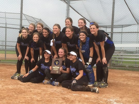 The Wrightstown softball team won 5-0 over Fox Valley Lutheran on Friday in a WIAA Division 2 regional final game.