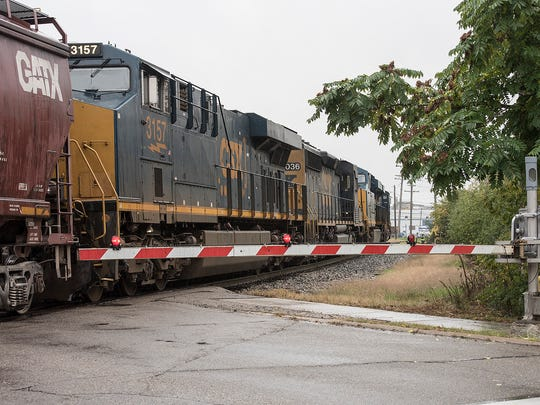 CSX has indicated it is taking steps to ease the problem of blocked railroad crossings.