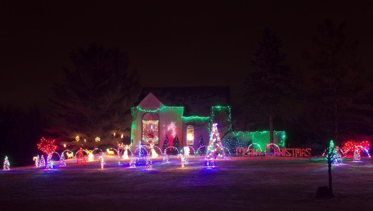 livingston county 2016 christmas light tour - Christmas Light Tour