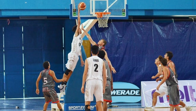 New Caledonia plays New Zealand a the 2016 FIBA U18 Oceania Championship on Dec. 7.
