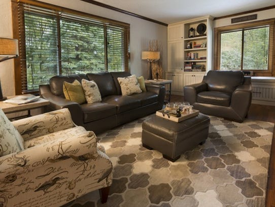 Built-ins are permanent decorative or storage items–like
