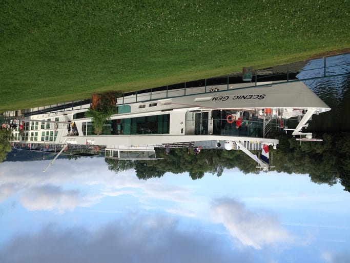 Unveiled on France's Seine River in July 2014, Scenic Cruises' 128-passenger Scenic Gem is a stylish, unusually-all-inclusive vessel that offers a more upscale experience than many of its competitors on the waterway.