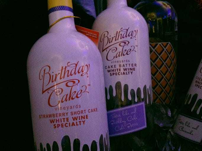 Birthday Cake Wine Images Free Download
