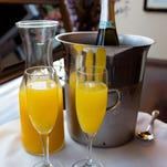 Blend Catering's 'Black Tie Brunch' on June 12 at Tannenbaum Event Center features mimosa and bloody Mary bars.