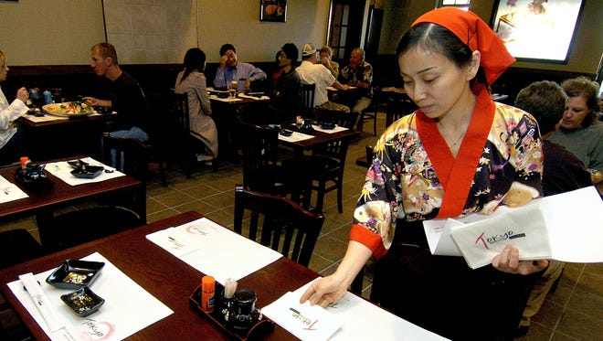The Tokyo Japanese restaurant at 4825 S. Louise Ave. will reopen Nov. 18 after a fire.