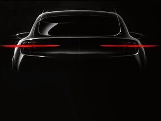 "Ford's upcoming high-performance electric SUV will feature ""Mustang-inspired"" styling."