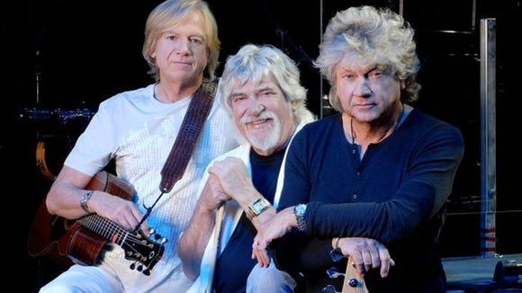 Justin Hayward, Graeme Edge and John Lodge of the Moody Blues.