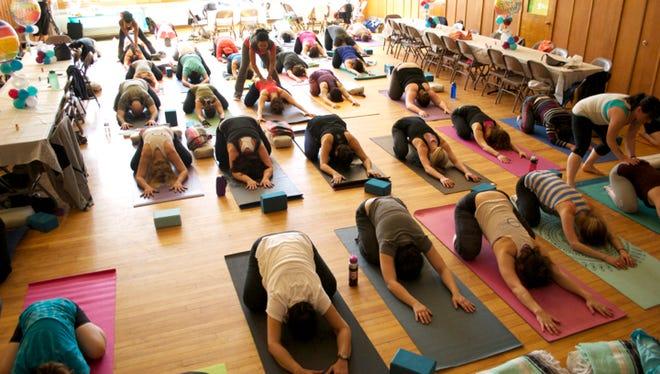 Yoga at Yoga Dosha.