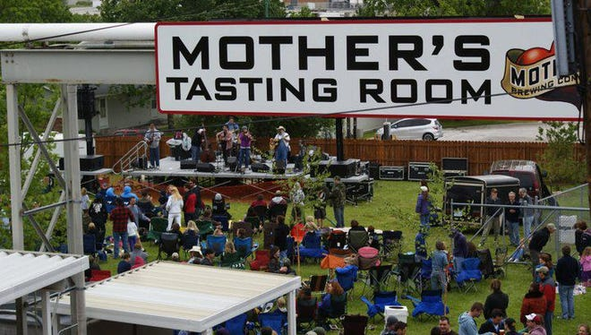 Mother's Brewing Co. and its backyard are among 15 local breweries, wineries and distilleries in the Ozarks Tap & Pour Craft Beverage Tour, a Springfield CVB promotion that launched in late June.
