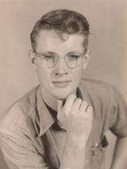 A pensive-looking Art Burr during his days with Jim Trappe at the University of Washington, circa 1952.