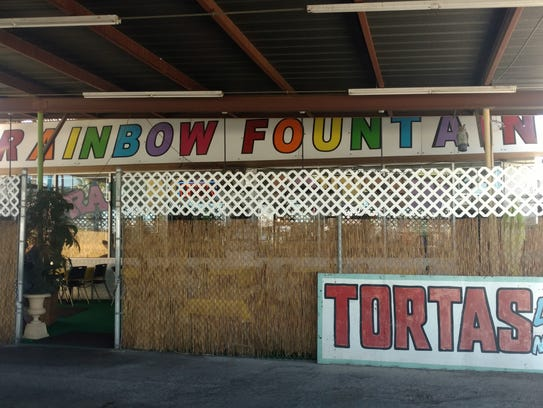 Rainbow Fountain Tortas offers about 30 different tortas!