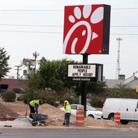 El Paso's Airway Boulevard will soon get Chick-fil-A, Great American, Charcoaler and more