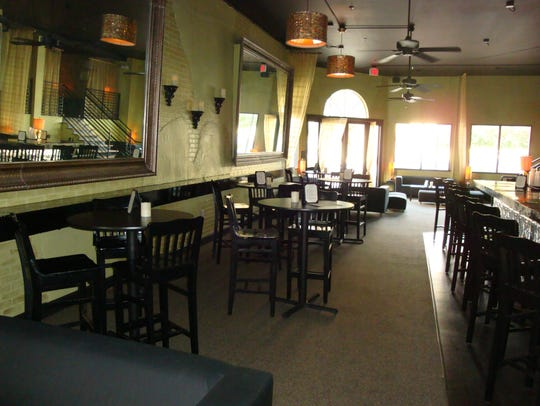 The interior of Tim & Tia's is pictured.