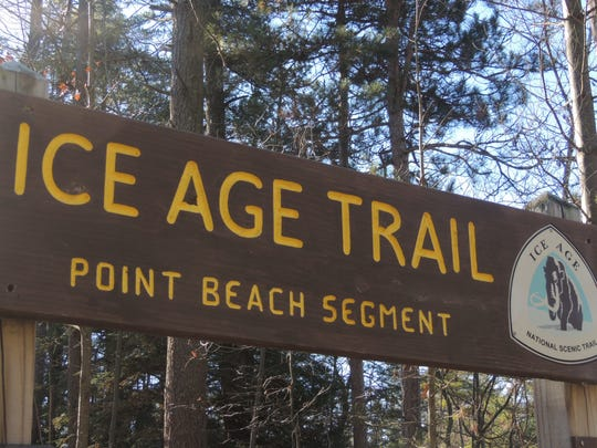 The Ice Age National Scenic Trail can be accessed at many points in east-central and northeast Wisconsin, including Point Beach State Forest near Two Rivers.