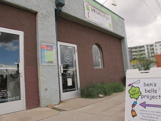 The non-profit Ben's Bells, which looks to spread kindness,