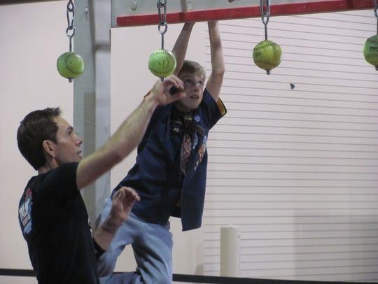 American Ninja Warrior competitor Jon Stewart, of Washington