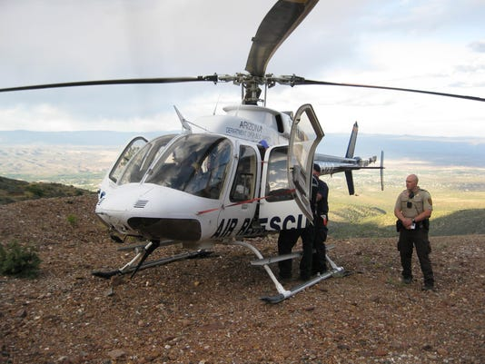 YCSO rescue trapped man