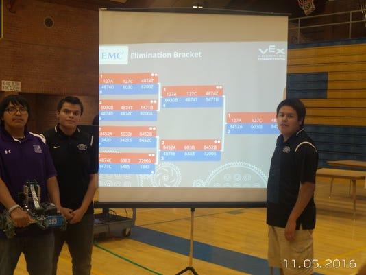 Mescalero robotics team