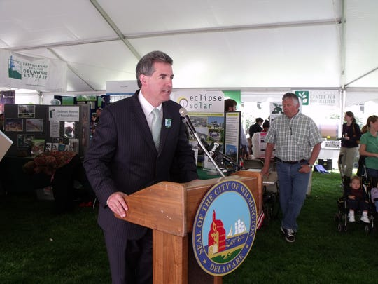 Shawn M. Garvin, Secretary of the Delaware Department of Natural Resources and Environmental Control is seen in this 2010 file photo when he was a regional administrator for the U.S. Environmental Protection Agency.