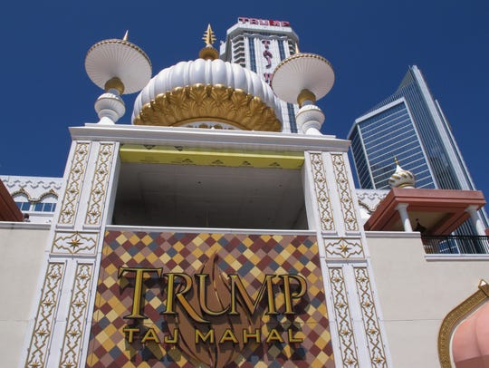 File photo of the former Trump Taj Mahal in Atlantic