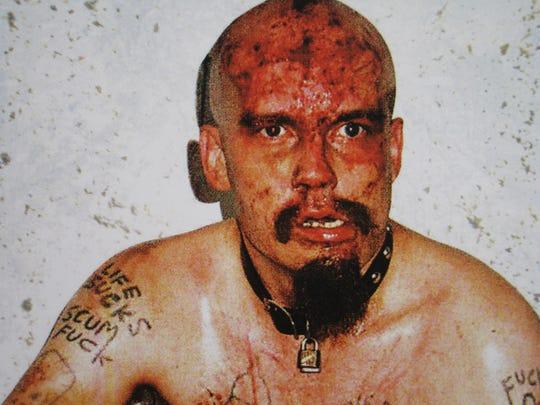 The late punk rocker GG Allin