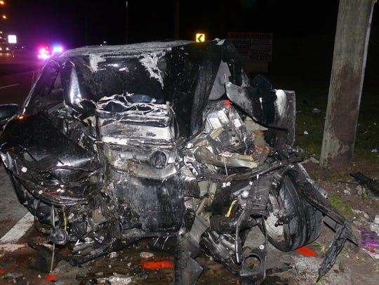 A fatal crash occurred early Friday in Port St. Lucie