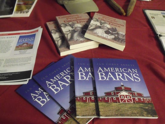 Books by Jan Corey Arnett are offered through her website, www.jancoreyarnett.com. She is known as the Barn Lady because of her passion for the old structures.