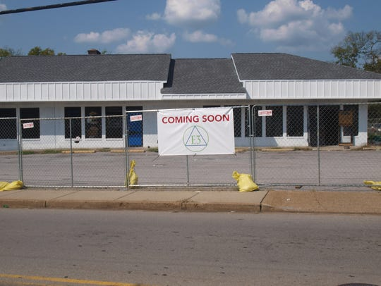 The former Squeeky Clean Coin Laundry  location at