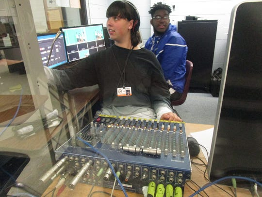 Inside Linden High School's Academy of Science and