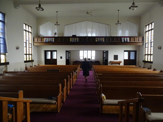 First United Church of Christ in Marion held its last