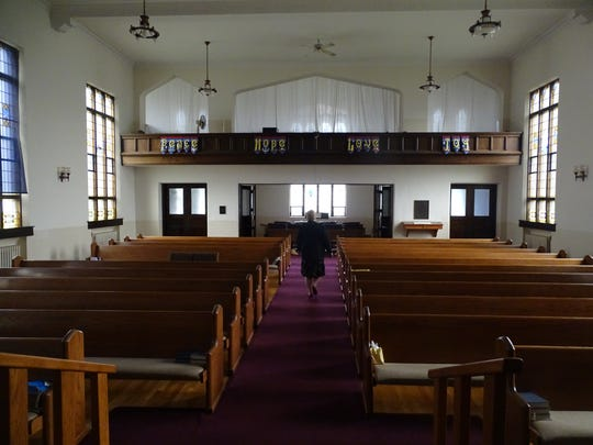 First United Church of Christ in Marion held its last Sunday service in the church at 326 S. Prospect St., during the fall of 2017. The church decided to tear down the building, which was becoming too expensive to maintain.
