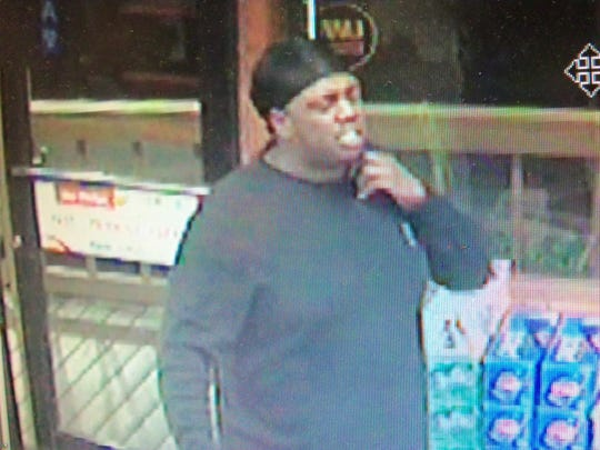Authorities are looking for two men who allegedly stole