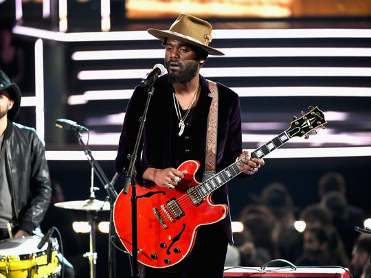 Gary Clark Jr. performs onstage during the 60th Annual GRAMMY Awards at Madison Square Garden on January 28, 2018 in New York City.