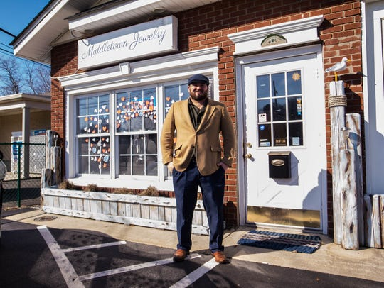 Owner Patrick Keelen of Middletown Jewelry.