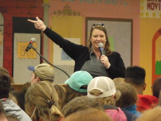 MSU Education Educator Beth Ferry shared information with over 360 attendees during the Animal Welfare for Youth workshop.