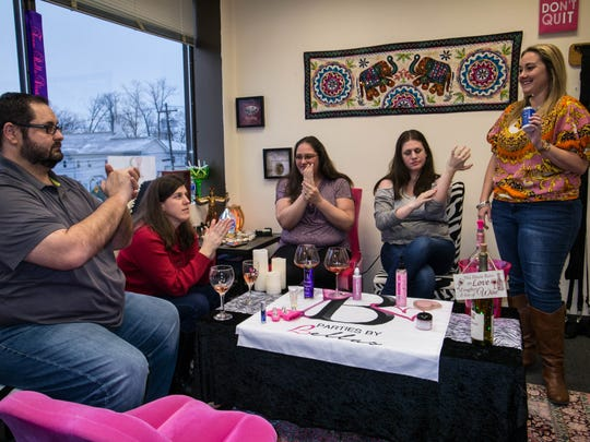 Parties by Bellas owner Holly Corbella sells adult-themed