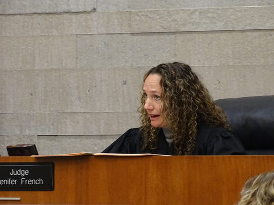Franklin County Common Pleas Court Judge Jenifer French handed down a 13-year prison sentence to Javier Armengau, a former Marion attorney convicted of sexually assaulting clients, at his re-sentencing Tuesday. It is effectively the same prison sentence he received after his conviction in 2014.