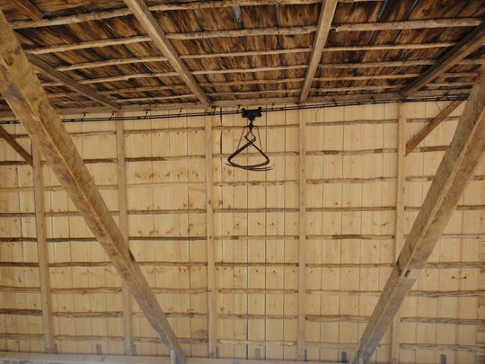 The Isham roof system rebuilt, very unusual to find