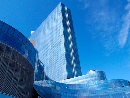 This April 26, 2018, file photo shows the exterior of the Ocean Resort Casino in Atlantic City, N.J.
