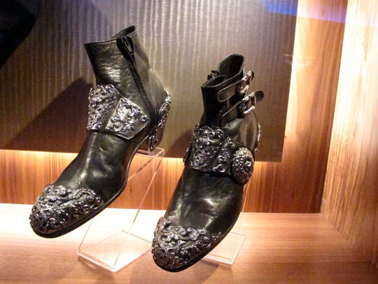 Shoes worn onstage and in videos by Michael Jackson
