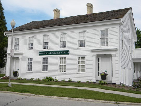 The Millhouse in 2013. The building now houses the Sheboygan County Historical Research Center.