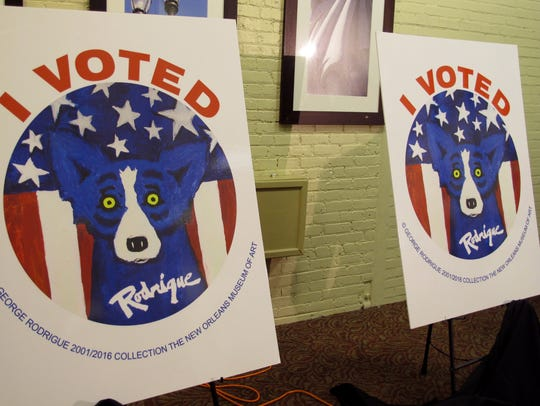 Some Rapides Parish voters have school tax propositions on their ballots Saturday.