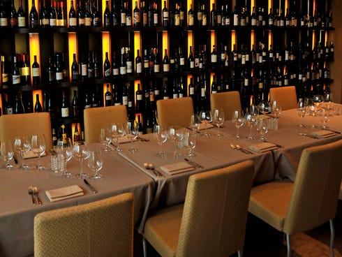 At 360 Bistro in Nashville, diners can browse wine selections on an iPad, sorting by country, region, varietals, vintage, score and price.