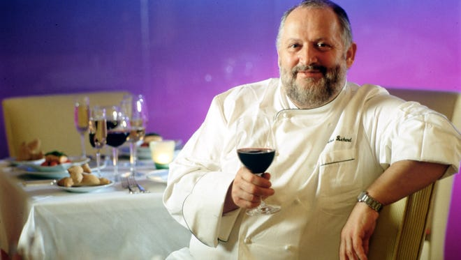 Michel Richard, seen here at his old D.C. restaurant Citronelle in 2000, suffered a stroke on Tuesday and died Saturday.