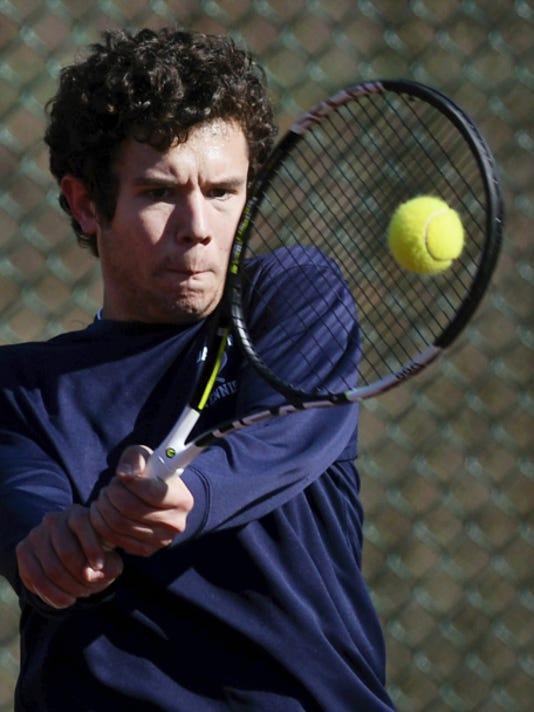 Dallastown's John Schmitt was named the GameTimePA.com boys' tennis Player of the Year.