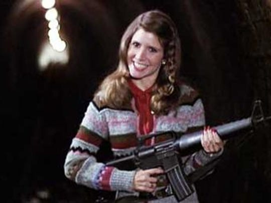 "Carrie Fisher in ""The Blues Brothers."""