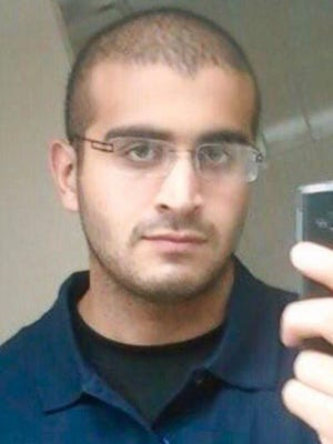 This undated image provided by the Orlando Police Department shows Omar Mateen, the shooting suspect at the Pulse nightclub in Orlando, Fla., Sunday, June 12, 2016.