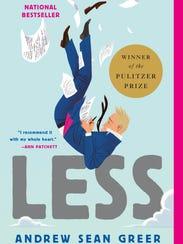"Andrew Sean Greer's Pulitizer Prize-winning novel ""Less."""