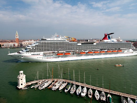 One of Carnival's newest ships, the Carnival Magic, debuted on May 1, 2011 in Venice, Italy. What's the vessel like? USA TODAY's Gene Sloan offers a photo tour.